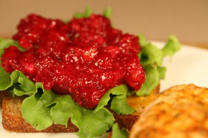 Bone Suckin'® Cranberry Relish Recipe