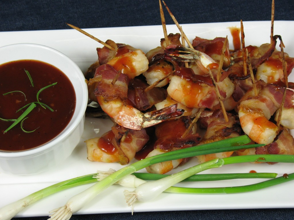 Bone Suckin'® Bacon Wrapped Shrimp Recipe