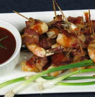 Bone Suckin' Bacon Wrapped Shrimp Recipe