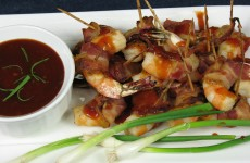Bone Suckin' Bacon Wrapped Shrimp Recipe