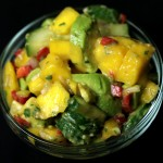 Bone Suckin' Avocado Peach Salsa Recipe