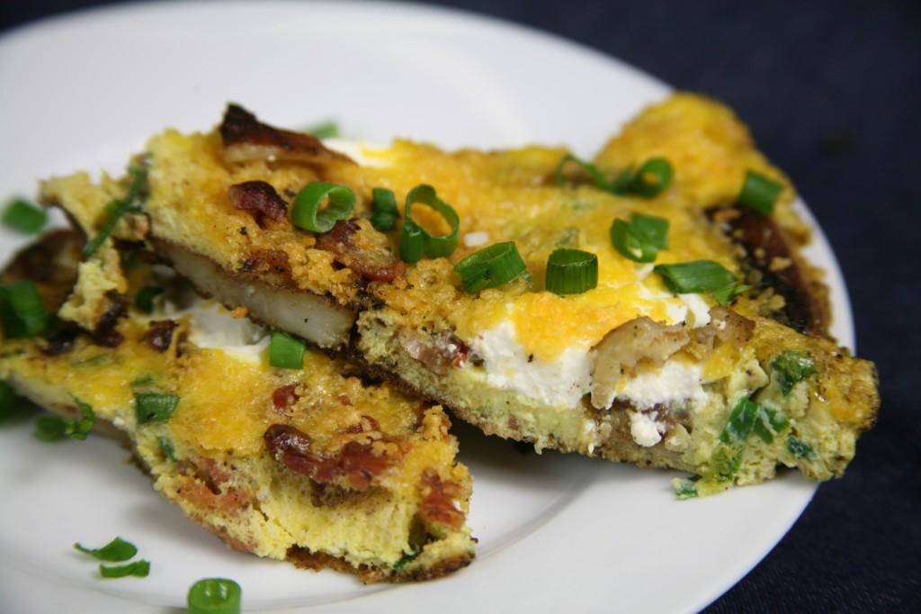 Bone Suckin'® Baked Potato Frittata Recipe