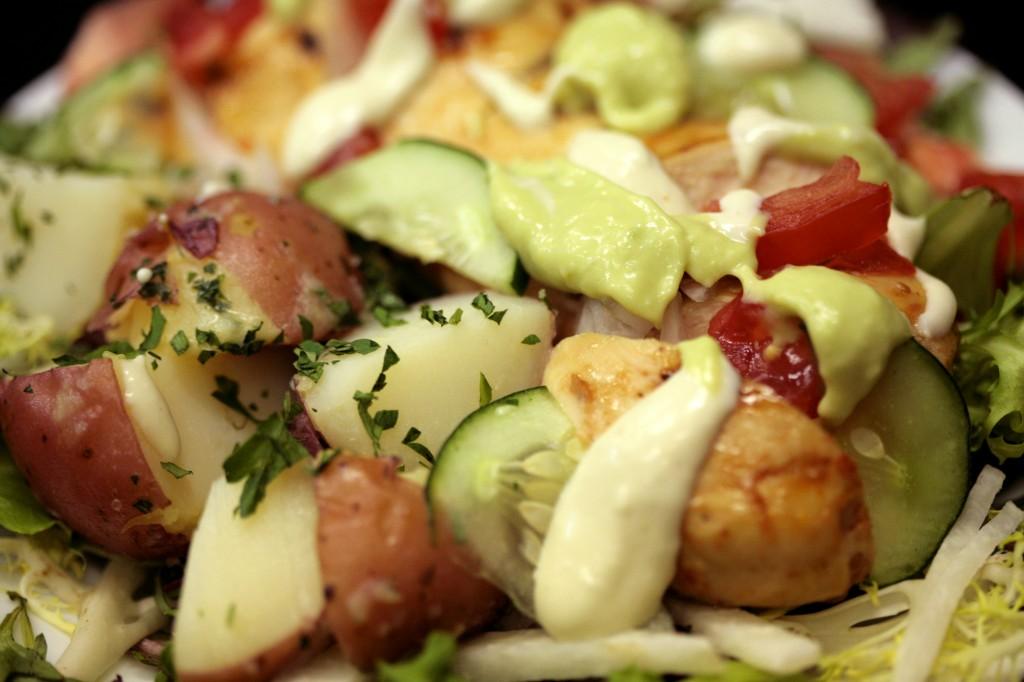 Bone Suckin' BBQ Chicken Salad Recipe