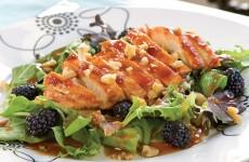 Bone Suckin' Blackberry Chicken Salad Recipe