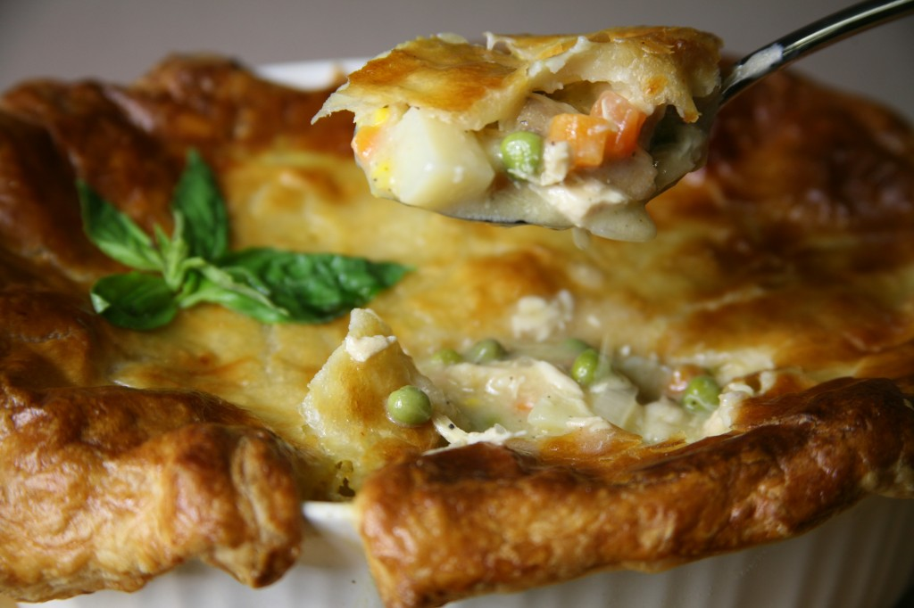 Bone Suckin'® Turkey Pot Pie Recipe