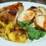 Bone Suckin' Grilled Chicken and Plantains Recipe