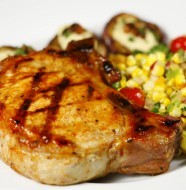 Bone Suckin' Glazed Grilled Pork Chops Recipe