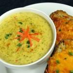 Bone Suckin' Cheddar Broccoli Soup Recipe