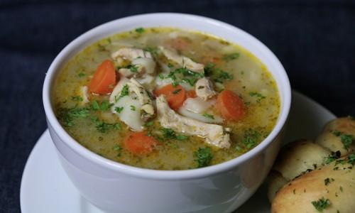 Bone Suckin' Chicken Noodle Soup Recipe