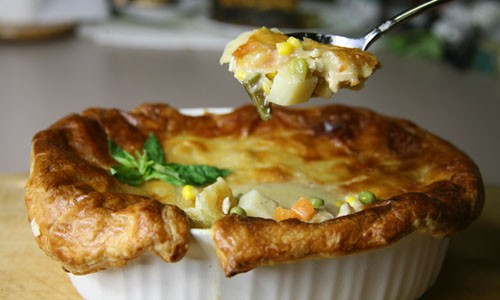 This Bone Suckin' Chicken Pot Pie Recipe is a surefire way to provide comfort to someone, especially you!