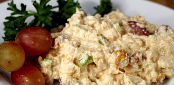Try our Bone Suckin' Chicken Salad Recipe one hot summer day to refresh your palate!