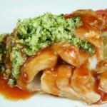 Bone Suckin' Cod with Zucchini Salsa Verde Recipe