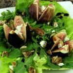 Bone Suckin' Fig and Goat Cheese Salad Recipe