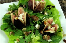 Bone Suckin' Fig and Goat Cheese Salad Recipe