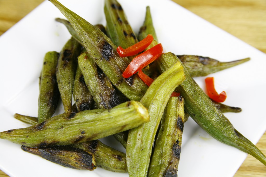 Bone Suckin'® Grilled Okra Recipe
