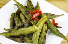 Bone Suckin' Grilled Okra Recipe