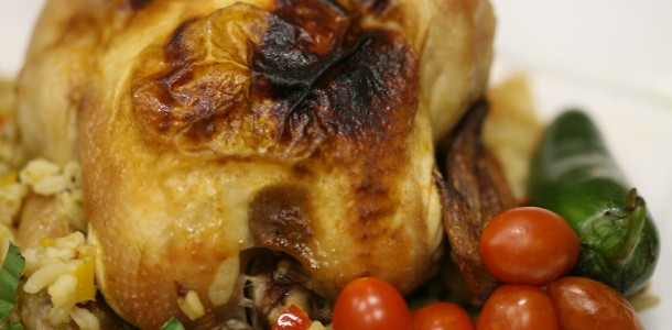 Try our Bone Suckin' Cornish Hens Recipe to make chicken a special meal.