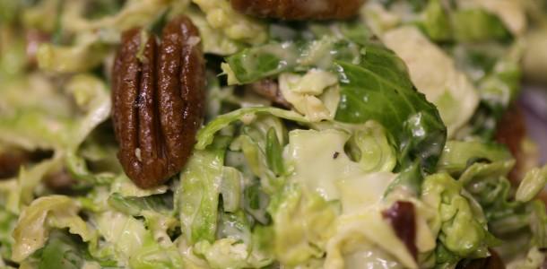 Bone Suckin' Brussels Sprouts Slaw Recipe