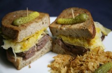 Bone Suckin' Rueben Recipe