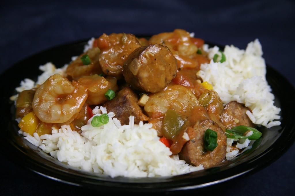 Bone Suckin'® Sausage and Shrimp Gumbo Recipe