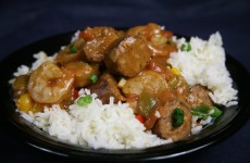 Bone Suckin' Sausage and Shrimp Gumbo Recipe