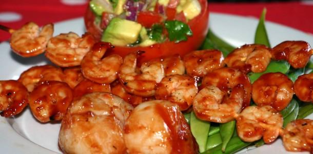 Bone Suckin' Shrimp and Scallops Recipe