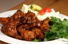 This Bone Suckin' Spicy Yaki Wings Recipe is delicious!