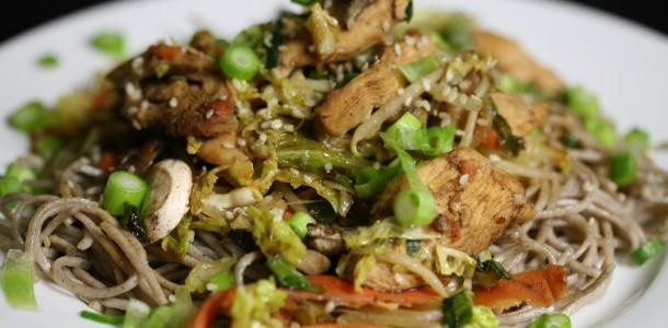 Bone Suckin' Stir Fry with Spicy Yaki Recipe