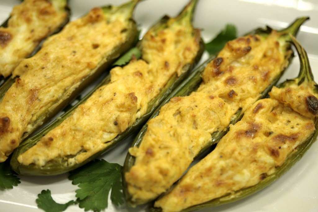 Bone Suckin'® Stuffed Jalapenos Recipe