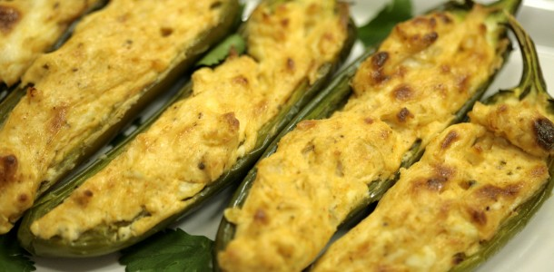 Bone Suckin' Stuffed Jalapenos Recipe
