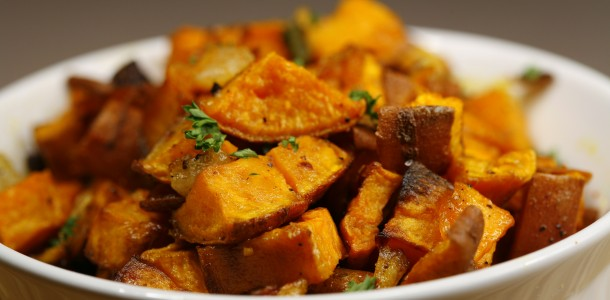 This Bone Suckin' Baked Sweet Potatoes Recipe will add the yum factor to any meal. to any meal