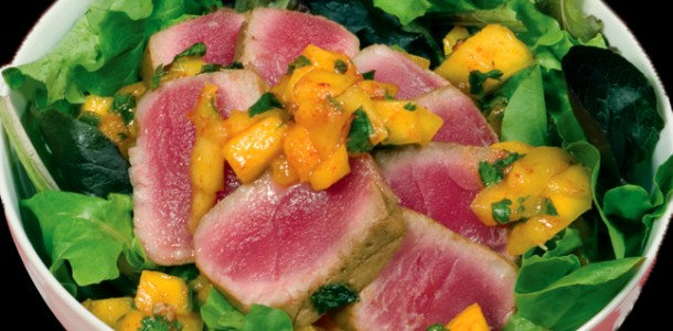 Bone Suckin' Yaki Ahi Tuna Recipe