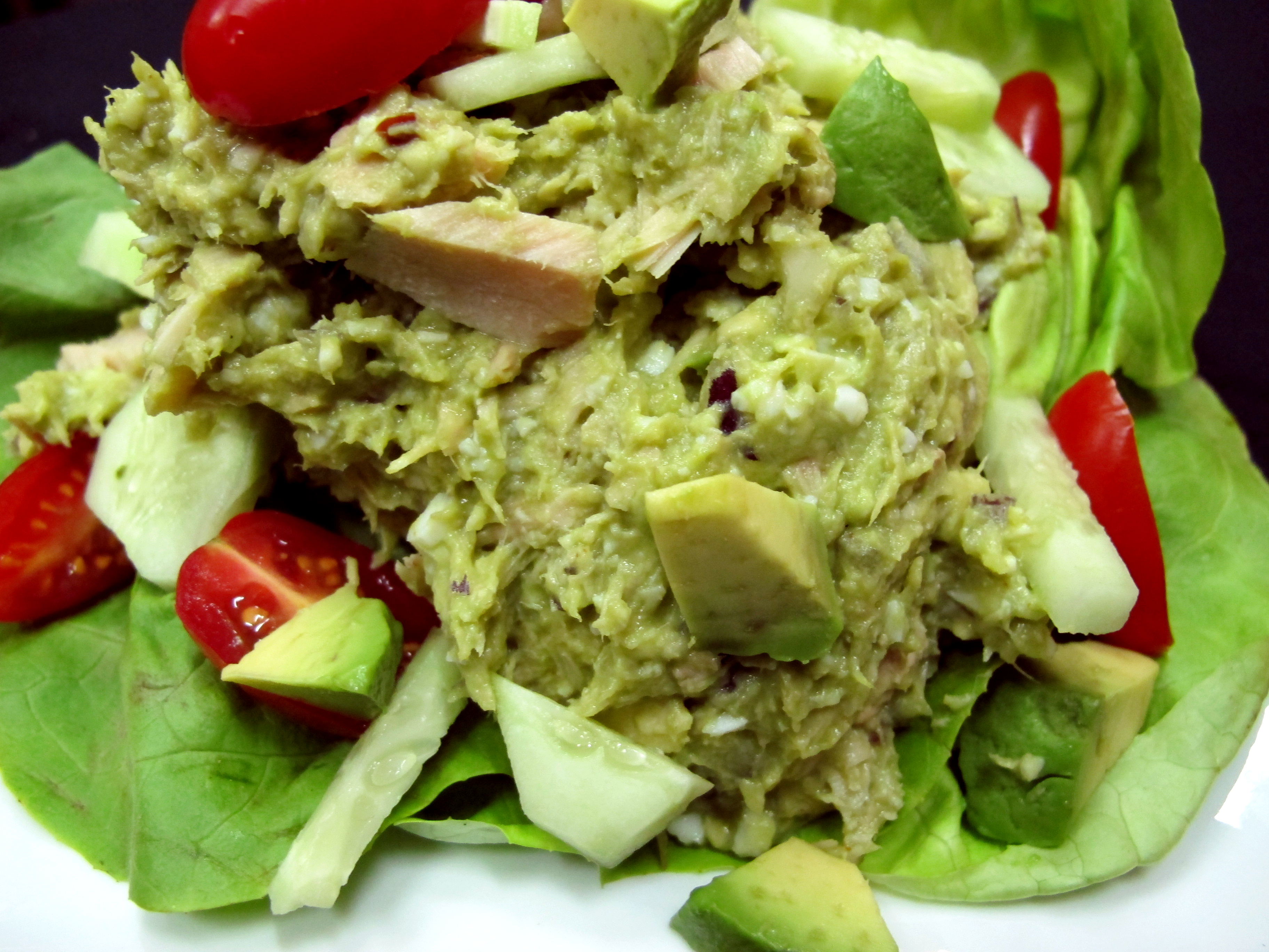 Bone Suckin Avocado Tuna Salad Recipe