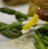 Bone Suckin' Grilled Asparagus with Lemon Dipping Sauce Recipe