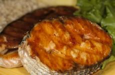 Bone Suckin' Grilled Salmon Steaks Recipe