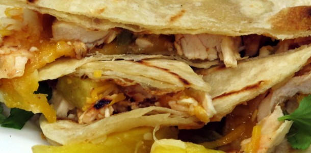 Try our Bone Suckin' Grilled Chicken & Pineapple Quesadilla Recipe along with our Bone Suckin' Sauce and enjoy!