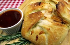 Thats Italian, our Bone Suckin' BBQ Chicken Stromboli Recipe.