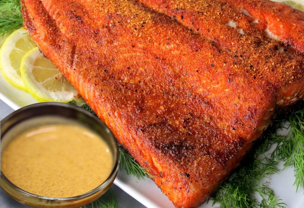 Bone Suckin' Salmon Mustard Sauce Recipe