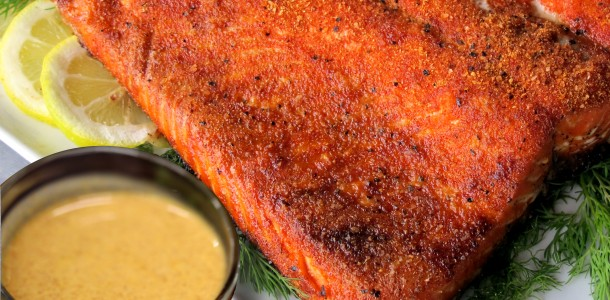Bone Suckin' Salmon Mustard Sauce Recipe is a tasty topping for your salmon or any fish or meat.