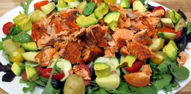 Add our Bone Suckin' Seafood Seasoning to this Bone Suckin' Salmon Salad Recipe and you will love it.