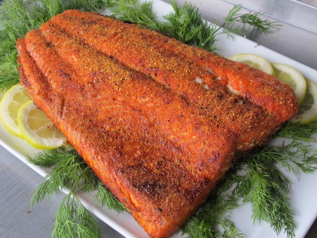 Bone Suckin' Seasoned Salmon Recipe
