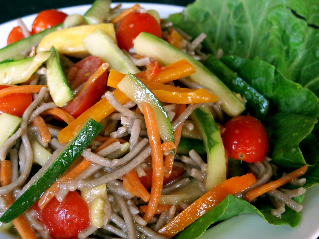 Bone Suckin' Soba Noodle Salad Recipe