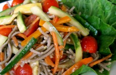 Try our Bone Suckin' Soba Noodle Salad Recipe with our Bone Suckin' Yaki and Hiccuppin' Hot sauce, you will love the flavor!