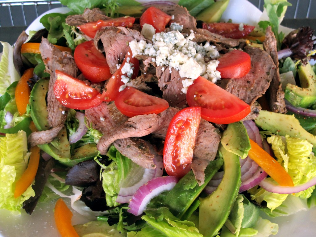 Bone Suckin' Carne Asada Salad Recipe