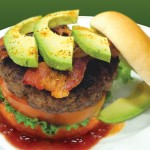 Add our delicious Bone Suckin' Sauce and Bone Suckin' Steak Seasoning to your burger with avocado and ENJOY!