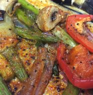 This colorful medley of a variety of vegetables will excite your tastebuds.