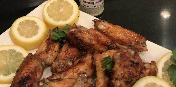 Crispy Lemon Pepper Wings Baked In The Oven