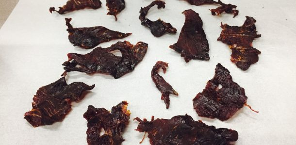 Add Bone Suckin' Sauce® to thinly sliced beef before dehydrating it and you will have a yummy treat!