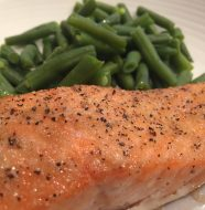 Putting Bone Suckin'® Lemon Pepper Seasoning & Rub on salmon filets makes a delicious entree for any nite of the week.