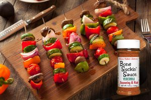 Bone Suckin' Vegetable Kabobs Recipe